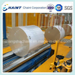 Paper Roll Stretch Film Wrapping Machine Ce Approved pictures & photos