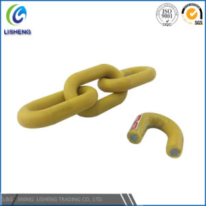 Colored Decorative PP Link Coated Plastic Chain pictures & photos