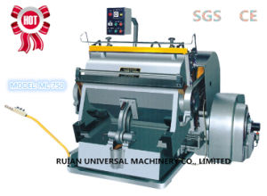 Creasing and Die Cutting Machine (ML-750) pictures & photos