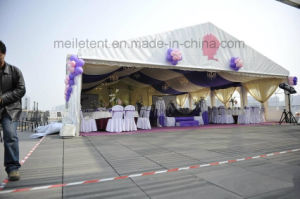 Luxury Wedding Marquee Canopy Tent with Roof Lining Decoration pictures & photos