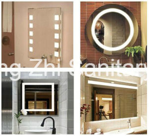 Bathroom Touch Screen Smart LED Mirror with Bluetooth and Radio pictures & photos