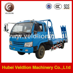 Hot Sale 4X2 Flad-Bed Cargo Trucks with 2 Ladders pictures & photos