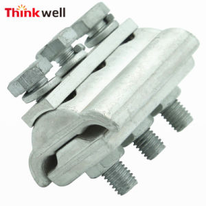 Electric Power Fitting 3 Bolt Aluminium Parallel Groove Clamp pictures & photos