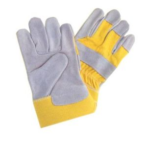 Cow Leather Work Glove (Qra-0102)