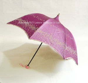 Dome Lady Umbrella with Windproof pictures & photos