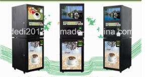 19inch Media Intelligent Advertisement Instant Coffee Vending Machine pictures & photos