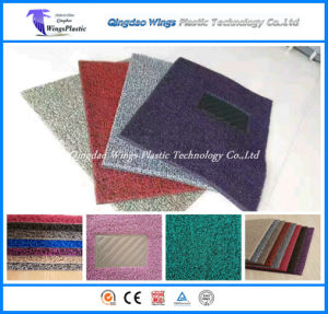 PVC Car Carpet / Coil Car Mat Spike Backing pictures & photos