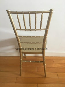 One Piece Tiffany Chair, Gold Color pictures & photos