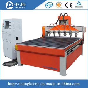 6 Heads 3D CNC Carving Machine for MDF pictures & photos