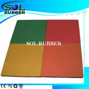 Slip-Resistant Outdoor Rubber Flooring pictures & photos