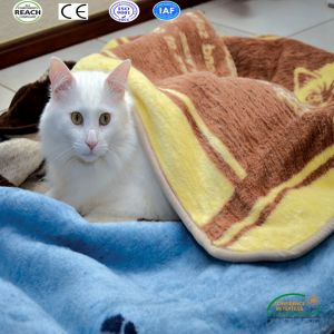 2017 Polar Fleece Kitty/ Cat Blanket pictures & photos