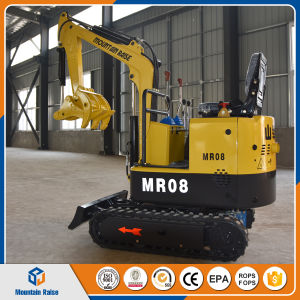 Ce Approved 08 Mini Excavator with Competitive Price pictures & photos