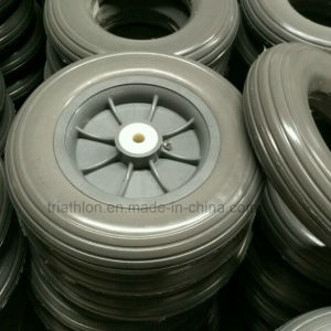 """10 Inch 10X2"""" 10X2.125"""" Flat Free PU Foam Tires pictures & photos"""