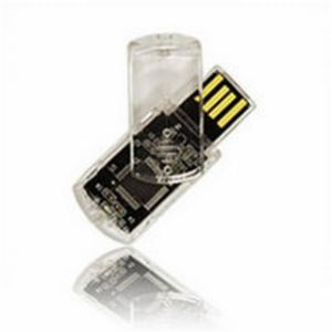 Swivel USB Flash Disk, Rotate Plastic USB Disk pictures & photos