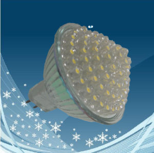MR16 Pagoda Shape (glass body) LED Cup Lamp/LED Light 78LED
