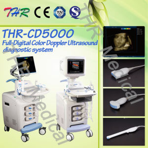 4D Color Doppler Ultrasound Scanner (THR-CD5000) pictures & photos