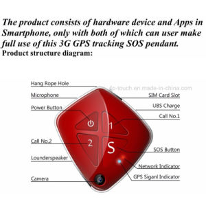 3G WCDMA GPS Tracker with Camera (V42) pictures & photos