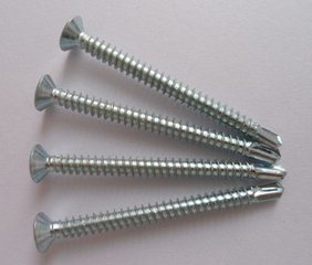 Flat Head Philips Self-Drilling Screw with Good Quality pictures & photos