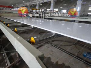 Wood Plastic Construction Board Manufacturing Machine/WPC Machine pictures & photos