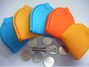 Factory Hot Selling Fashionable Silicone Coin Bag pictures & photos
