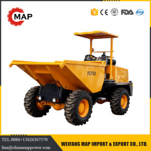 5 Ton 4*4 Wheel Drive Hydraulic Site Mini Dumper pictures & photos