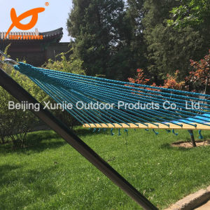 2 Person Portable Cotton Fabric Canvas Hanging Bed Hammock