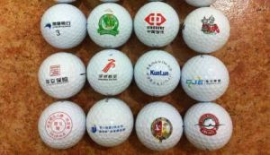 Customized Logo High Quality Two-Piece Golf Ball pictures & photos