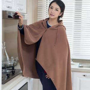 Clothing Women Apparel Fleece Blanket Poncho TV Blanket pictures & photos
