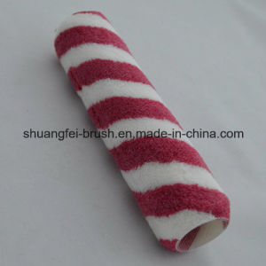230mm Red & White Stripe Acrylic Paint Roller for All Painting pictures & photos