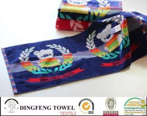100% Cotton Color Jacqyard Velour Bath Towel Df-3268 pictures & photos