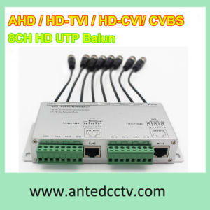 8 Channel Ahd/Tvi/Cvi/Cvbs UTP HD Video Balun pictures & photos