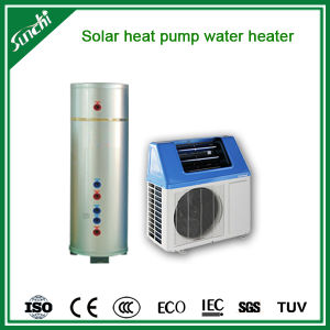 Save 80% Power Cop5.32 Tankless 220V R410A Max 60deg. C 5kw, 7kw, 9kw Top10 Heat Pump Hybrid Solar Thermal Pumps for Home Hot Water pictures & photos