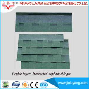 Factory Direct Sale Top Quality Colorful Asphalt Roofing Shingle for Log Cabin pictures & photos