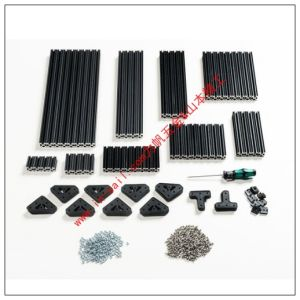Black Anodize Aluminium Extrusions and Hinges pictures & photos