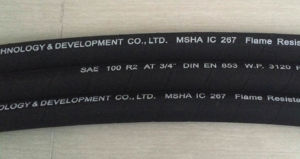 R1 R2 Flexible Wire Braid Oil Resistant Nitrile Rubber Hose pictures & photos