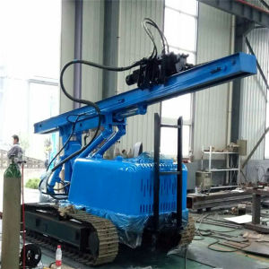Hydraulic Solar Spiral Piling Drilling Machine (Manufacturer) pictures & photos