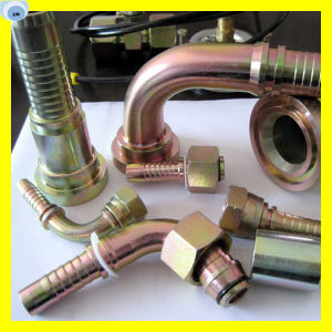 Interlock Hydraulic Hose Fitting Degree SAE Flange 3000 Psi 87393-20-20 pictures & photos