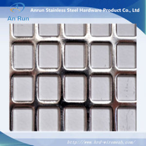 Express Square Hole Perforated Metal Screen pictures & photos