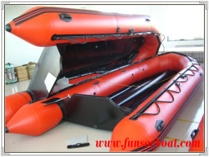 Inflatable Air Boats with Aluminum Floor (FWS-A600) pictures & photos