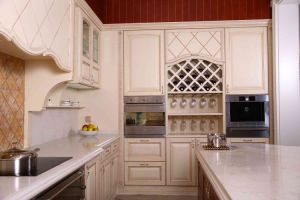 2016 Welbom Wholesale Modern Stylish White Matte Lacquer Wooden Kitchen Cabinet pictures & photos