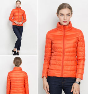 Factory Cheap Colorful Fashion Top Quality Women′s light Jacket pictures & photos
