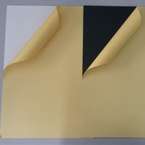 0.5mm Self Adhesive PVC Rigid Sheet for Making Photo Album pictures & photos
