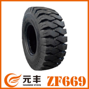 Mini Loader Tyre, Solid Tire for Balanced Forklift (8.25-15)