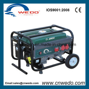 Portable Gasoline Generator with Handle & Wheels (WD2505) pictures & photos