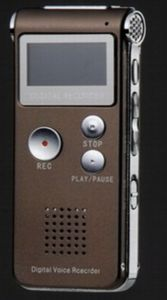 Rechargeable 8g USB Vor 650hr Digital Audio Voice Recorder Dictaphone MP3 Player pictures & photos