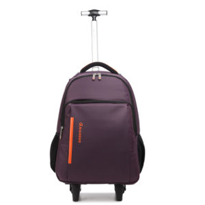 Trolley Laptop Backpack with Wheels pictures & photos