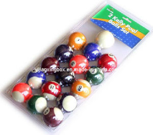 Plastic PVC Pool Balls Blister Packaging