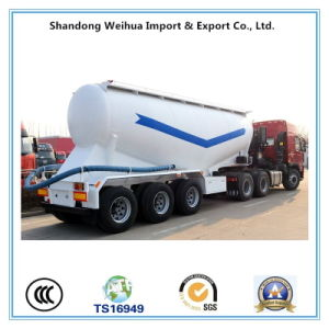 35cbm Bulk Cement Tank, Cement Tanker Semi Trailer From Manufacture pictures & photos