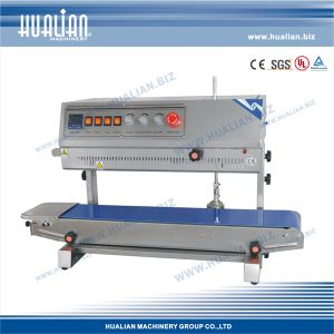 Hualian 2017 Automatic Continuous Band Sealer (FRM-810II) pictures & photos
