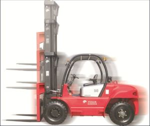 5ton Counter Balance Diesel Forklift with Japanese Engine pictures & photos